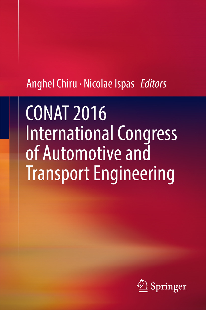 Chiru, Anghel - CONAT 2016 International Congress of Automotive and Transport Engineering, ebook