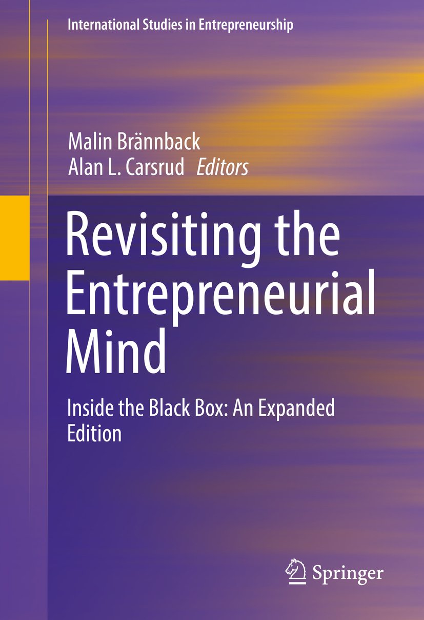Brännback, Malin - Revisiting the Entrepreneurial Mind, ebook