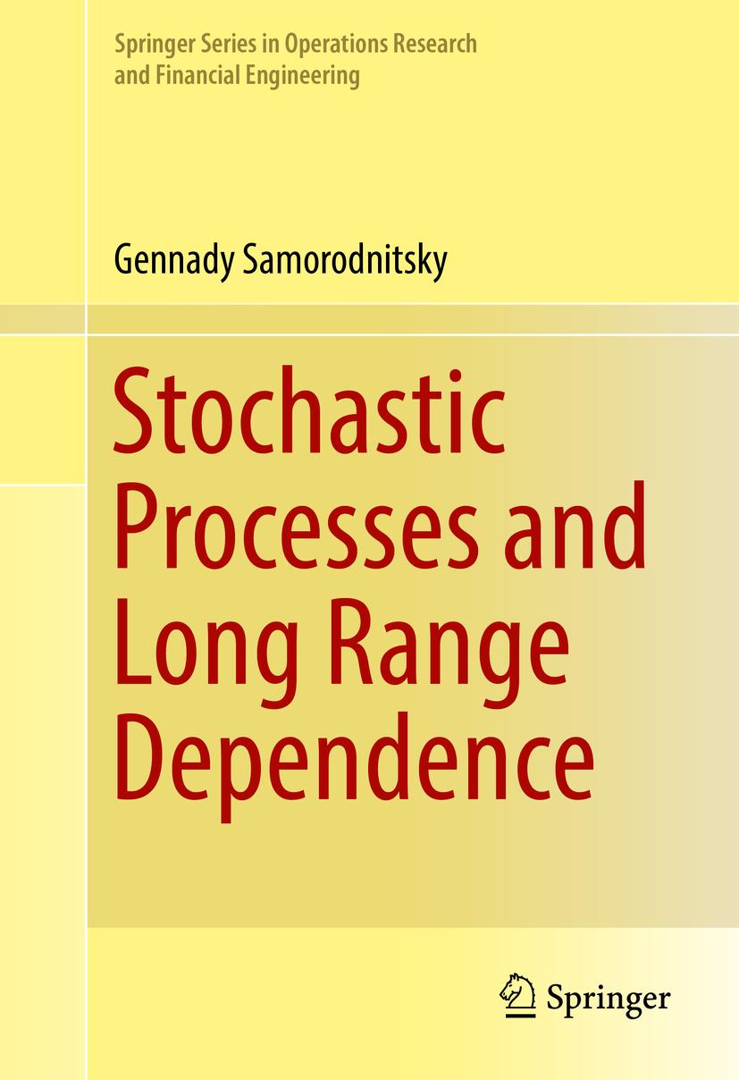 Samorodnitsky, Gennady - Stochastic Processes and Long Range Dependence, ebook