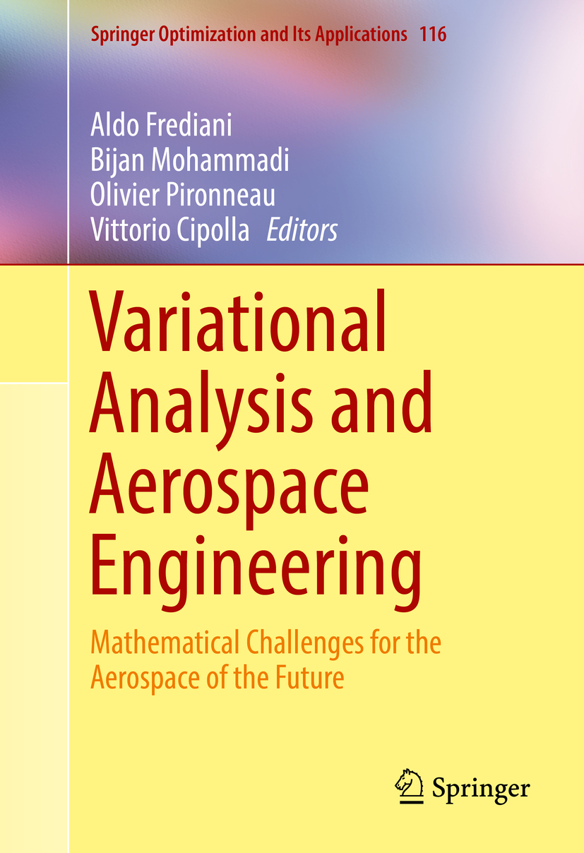 Cipolla, Vittorio - Variational Analysis and Aerospace Engineering, e-kirja