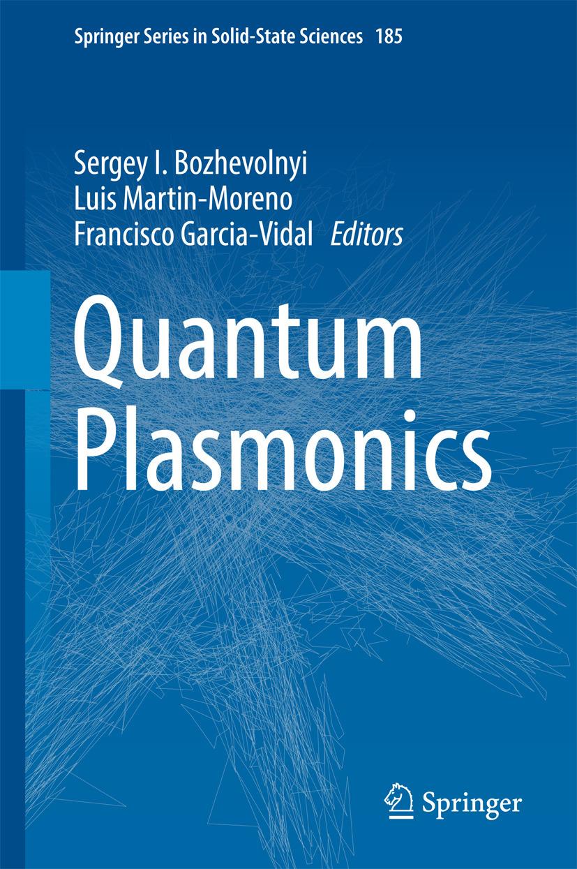 Bozhevolnyi, Sergey I. - Quantum Plasmonics, e-kirja