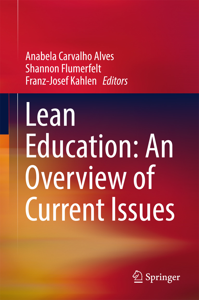 Alves, Anabela Carvalho - Lean Education: An Overview of Current Issues, ebook