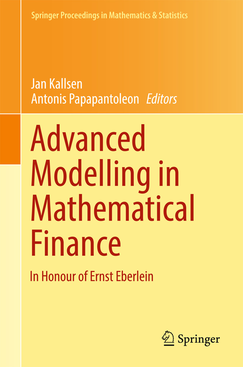 Kallsen, Jan - Advanced Modelling in Mathematical Finance, ebook