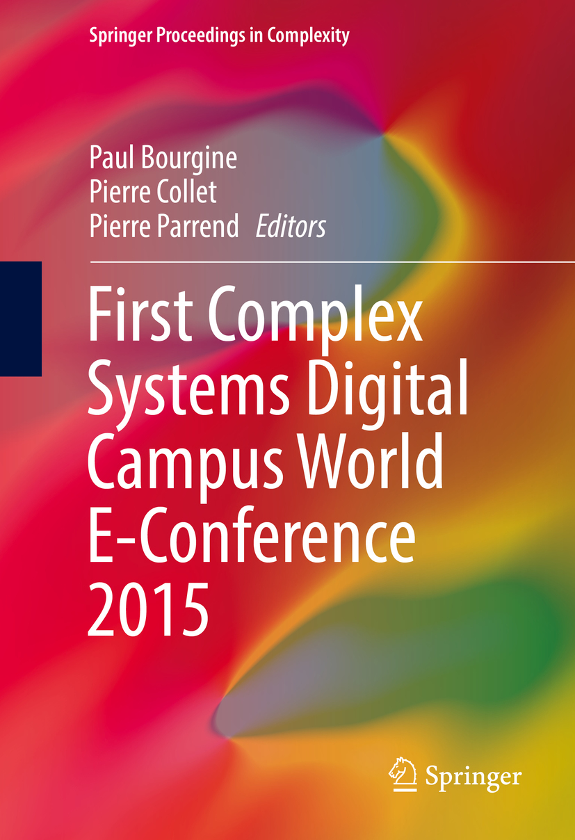 Bourgine, Paul - First Complex Systems Digital Campus World E-Conference 2015, ebook