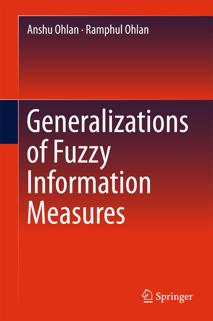 Ohlan, Anshu - Generalizations of Fuzzy Information Measures, ebook