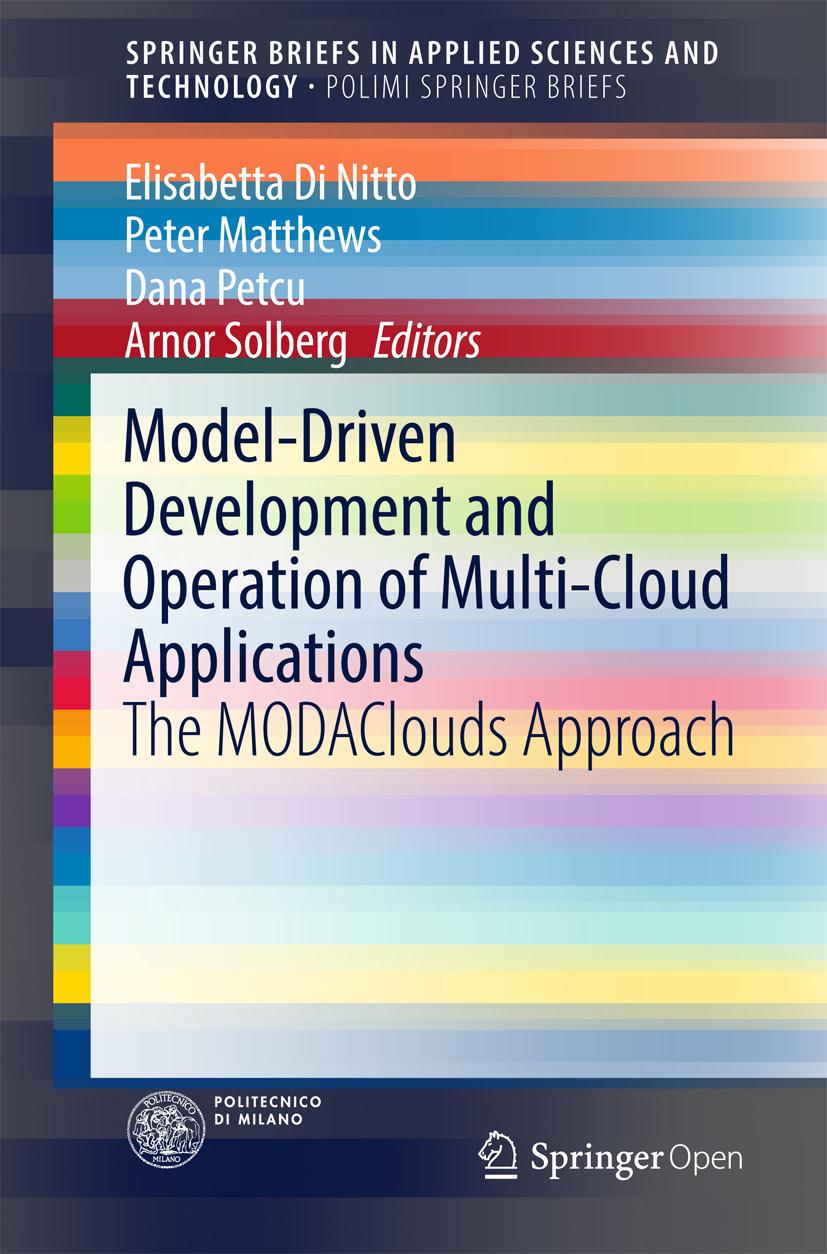 Matthews, Peter - Model-Driven Development and Operation of Multi-Cloud Applications, ebook