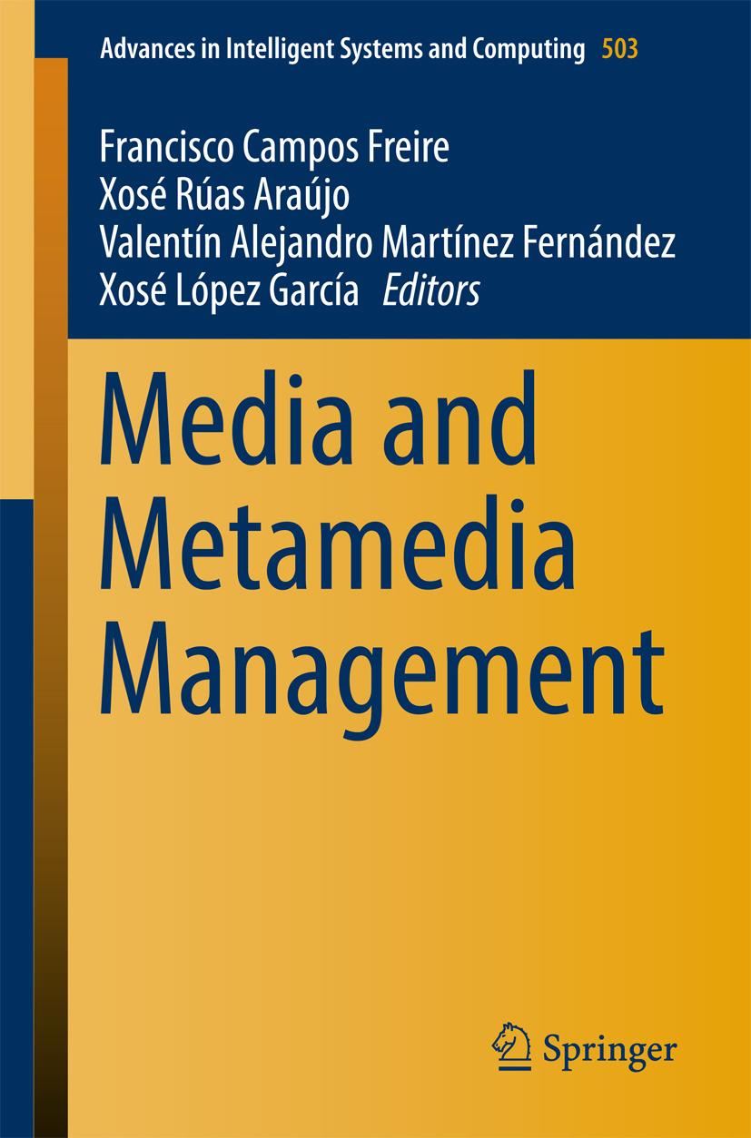 Araújo, Xosé Rúas - Media and Metamedia Management, ebook