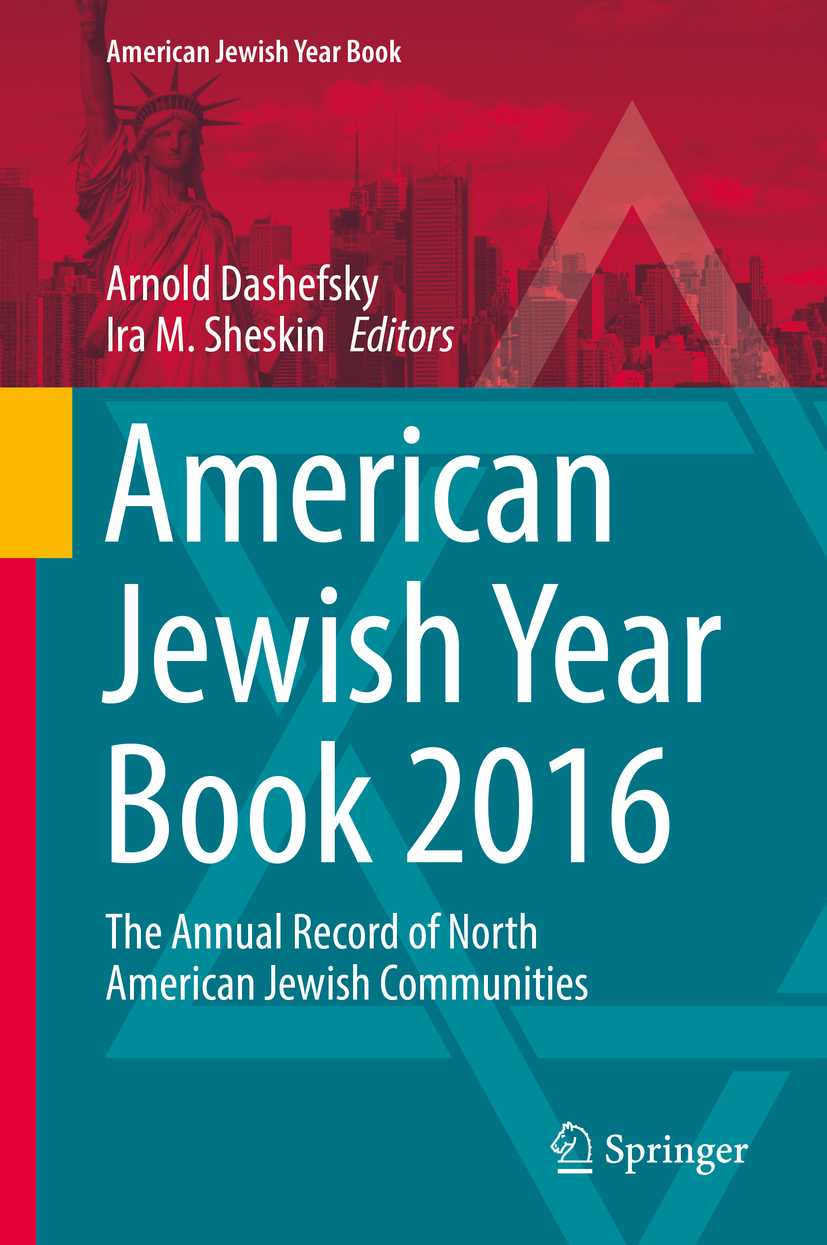 Dashefsky, Arnold - American Jewish Year Book 2016, ebook