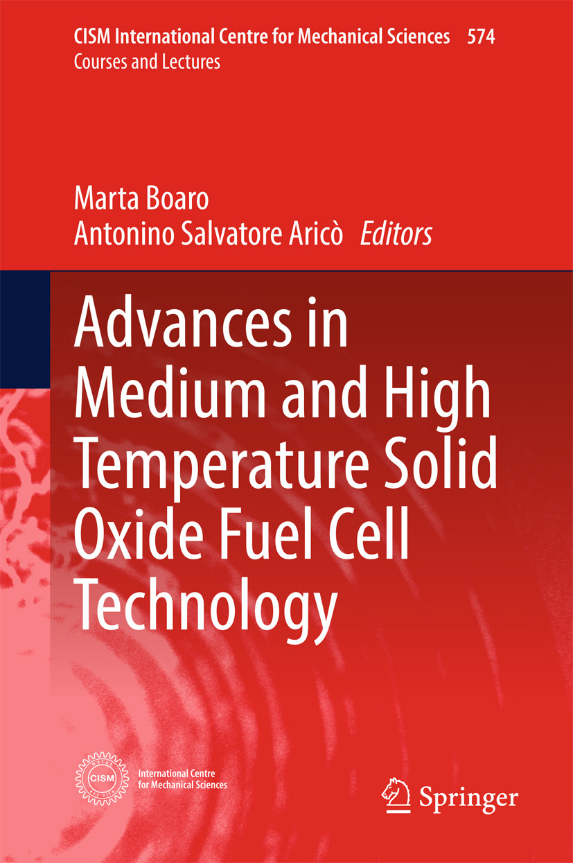 Boaro, Marta - Advances in Medium and High Temperature Solid Oxide Fuel Cell Technology, ebook