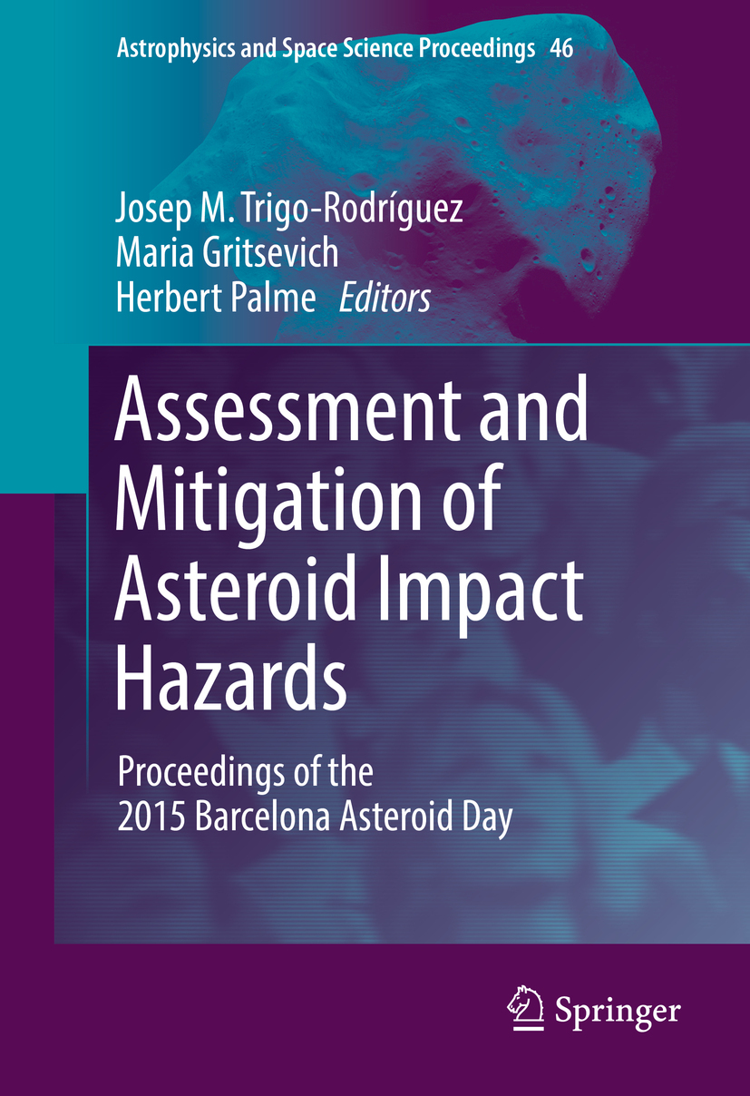 Gritsevich, Maria - Assessment and Mitigation of Asteroid Impact Hazards, e-bok