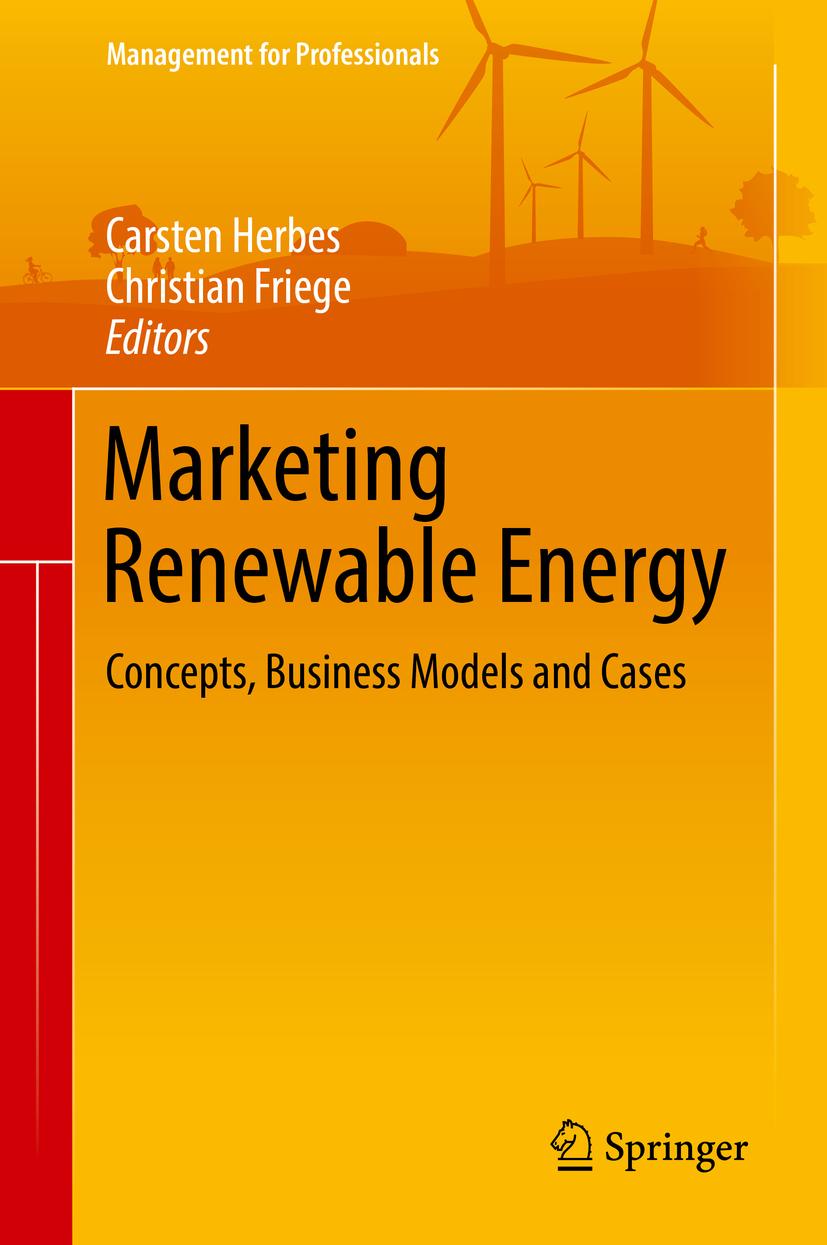 Friege, Christian - Marketing Renewable Energy, ebook