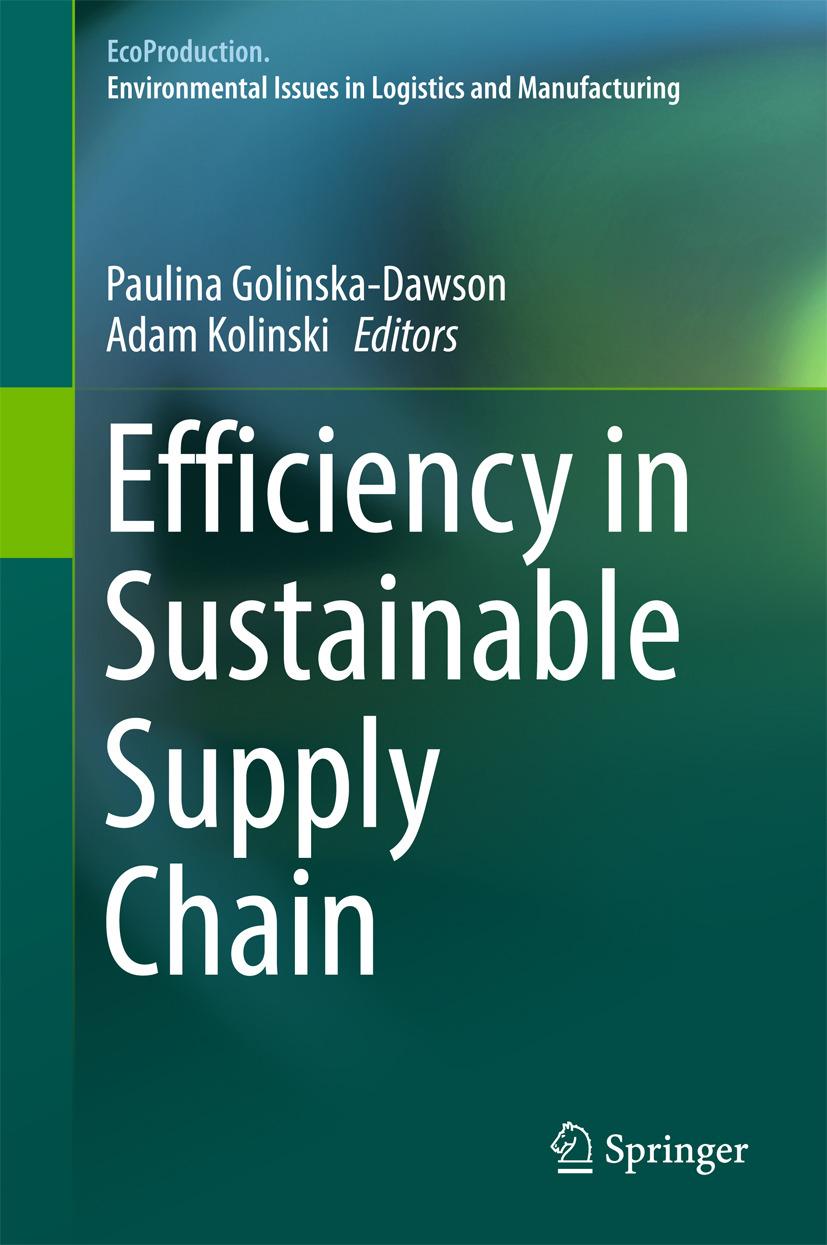 Golinska-Dawson, Paulina - Efficiency in Sustainable Supply Chain, ebook
