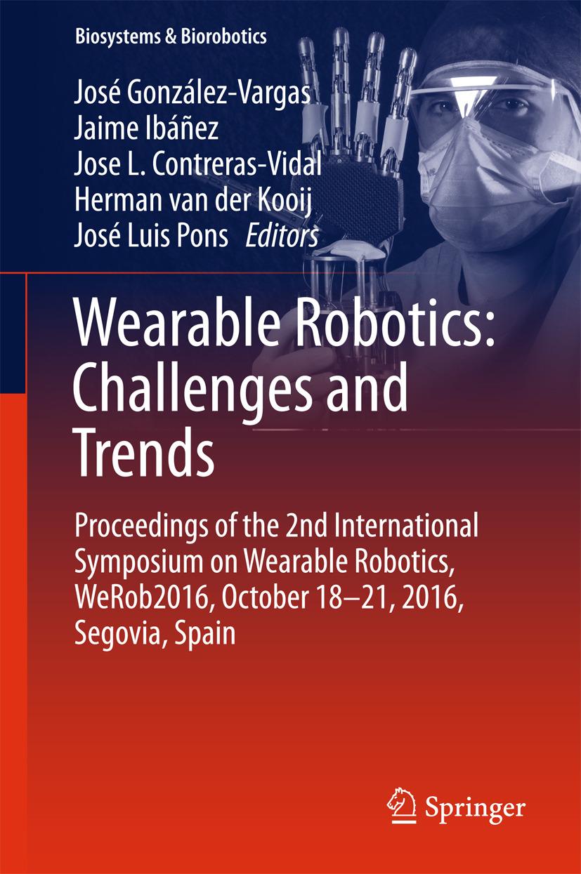 Contreras-Vidal, Jose L. - Wearable Robotics: Challenges and Trends, ebook
