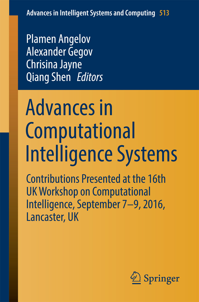 Angelov, Plamen - Advances in Computational Intelligence Systems, ebook