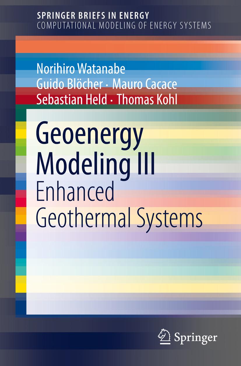 Blöcher, Guido - Geoenergy Modeling III, ebook