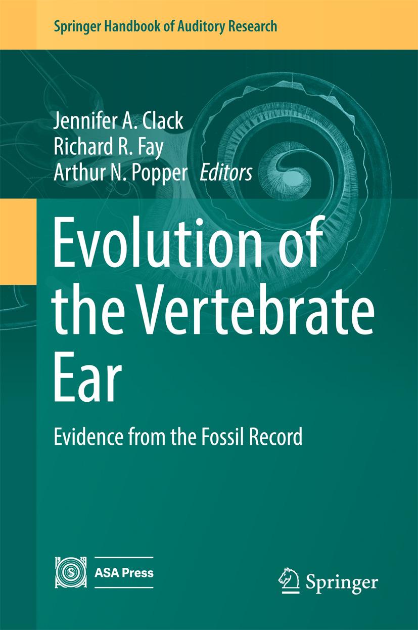 Clack, Jennifer A. - Evolution of the Vertebrate Ear, ebook