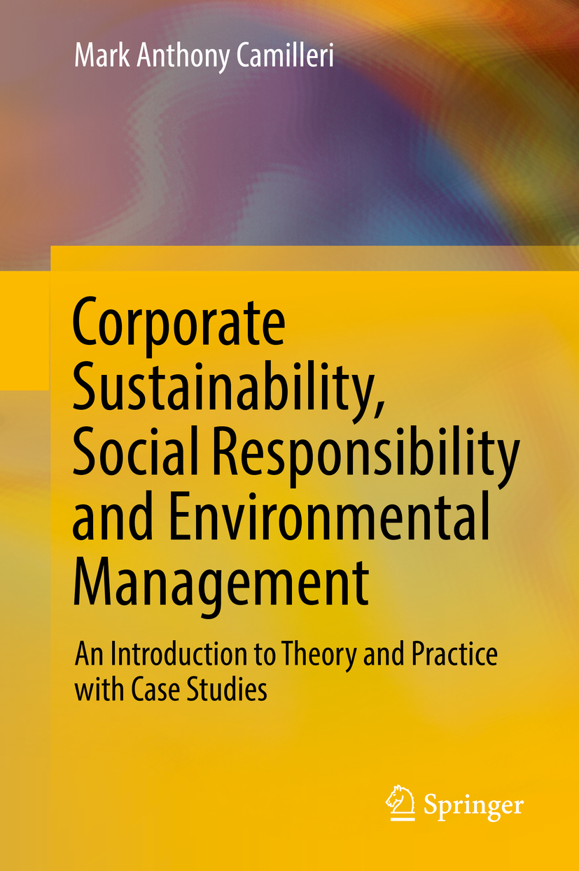 Camilleri, Mark Anthony - Corporate Sustainability, Social Responsibility and Environmental Management, ebook