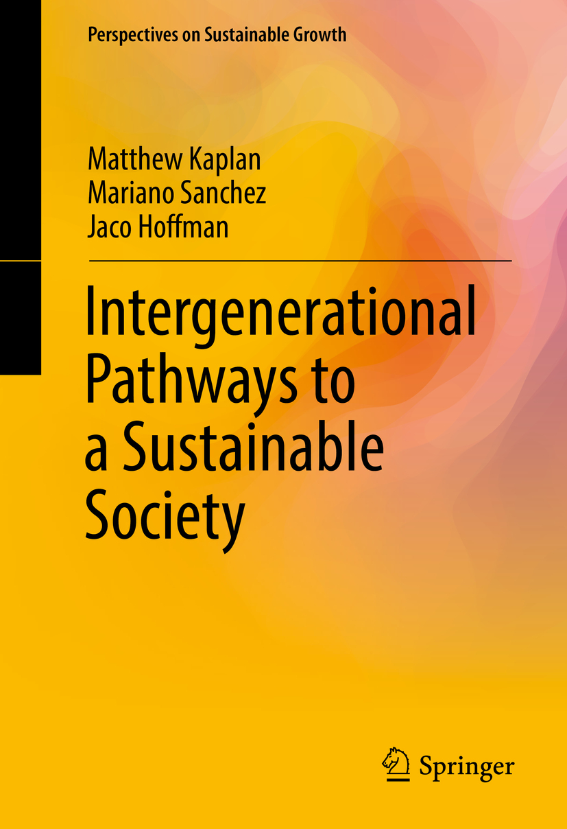 Hoffman, Jaco - Intergenerational Pathways to a Sustainable Society, ebook
