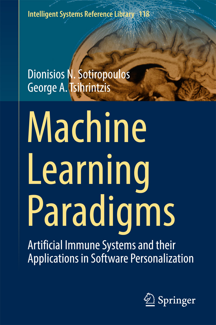 Sotiropoulos, Dionisios N. - Machine Learning Paradigms, ebook