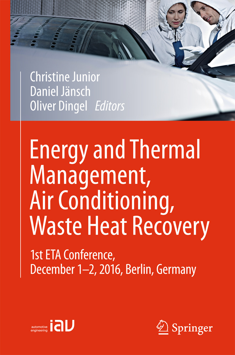 Dingel, Oliver - Energy and Thermal Management, Air Conditioning, Waste Heat Recovery, ebook