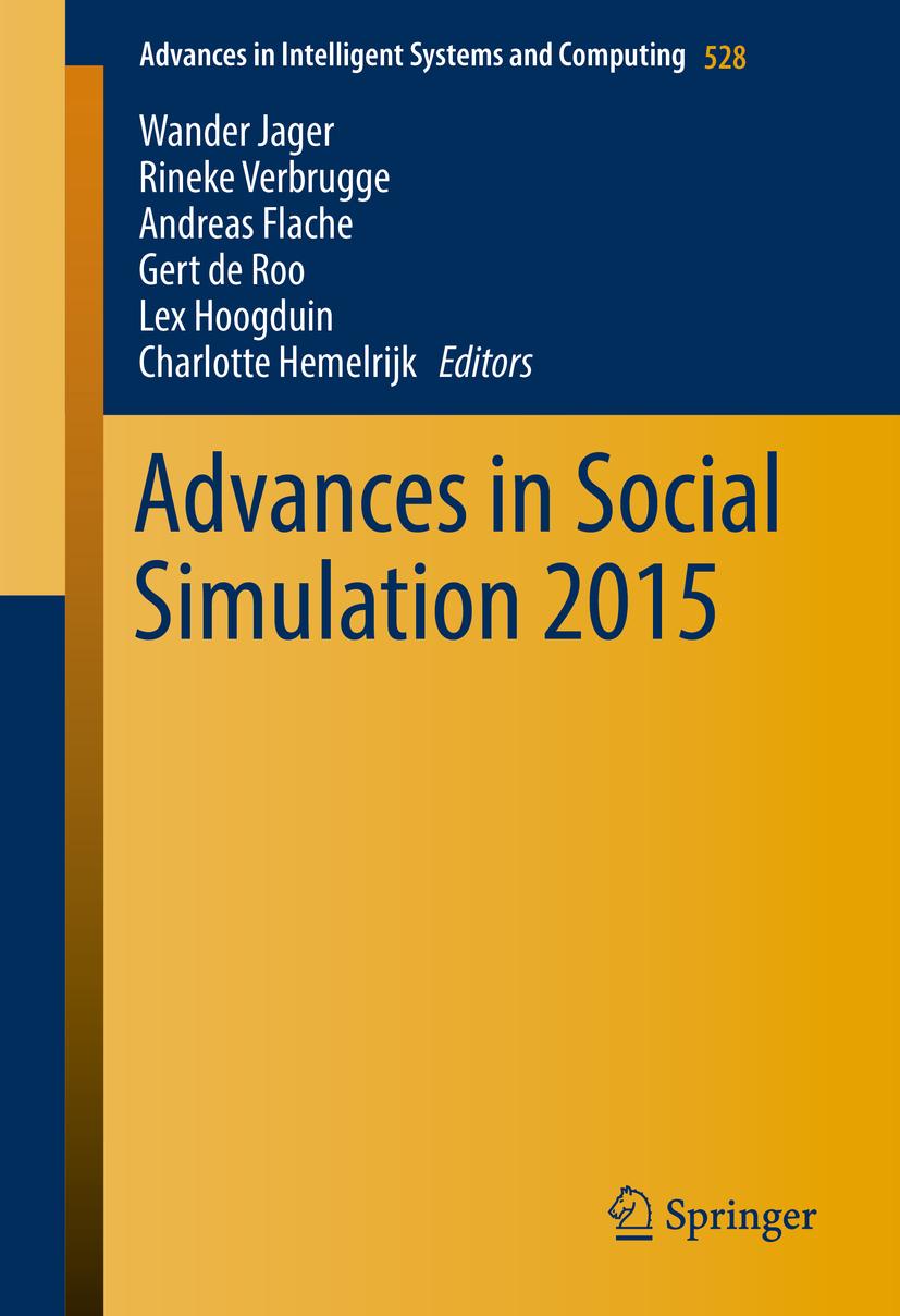 Flache, Andreas - Advances in Social Simulation 2015, ebook