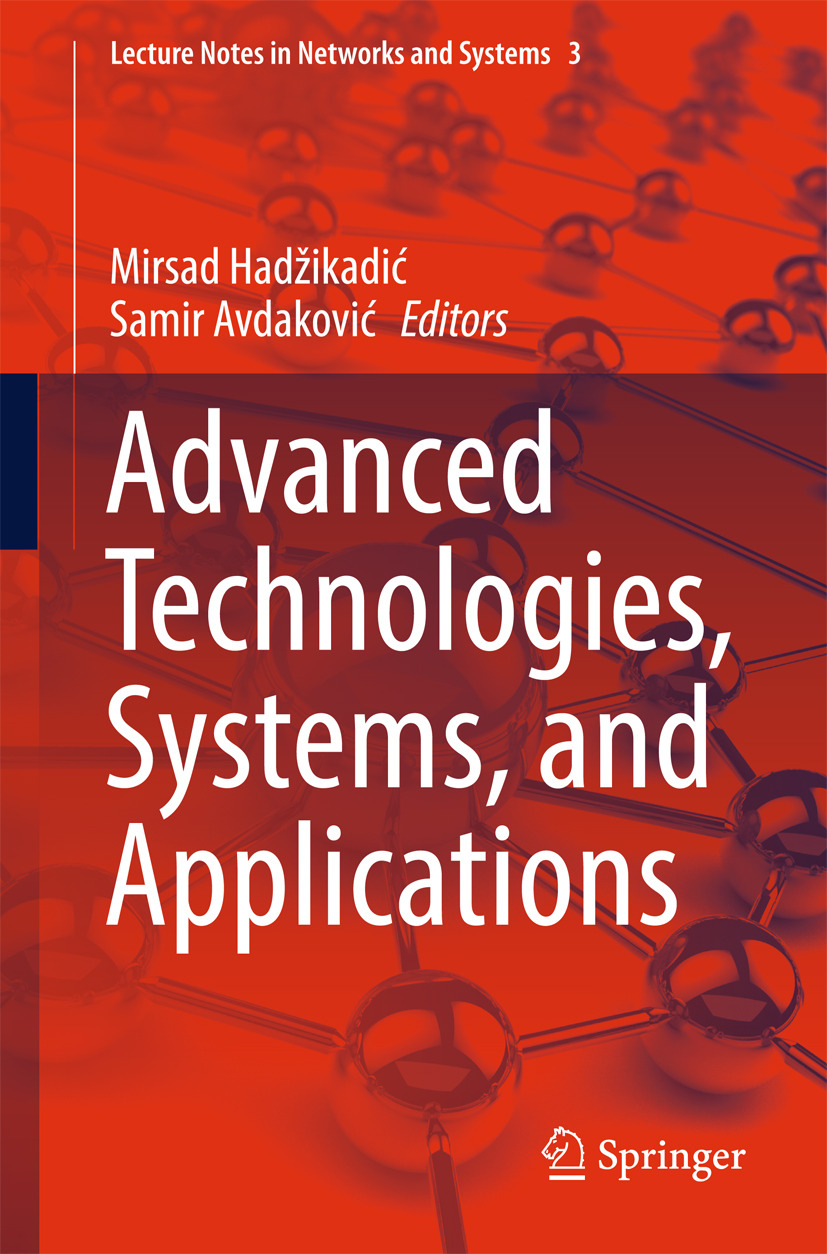 Avdaković, Samir - Advanced Technologies, Systems, and Applications, ebook