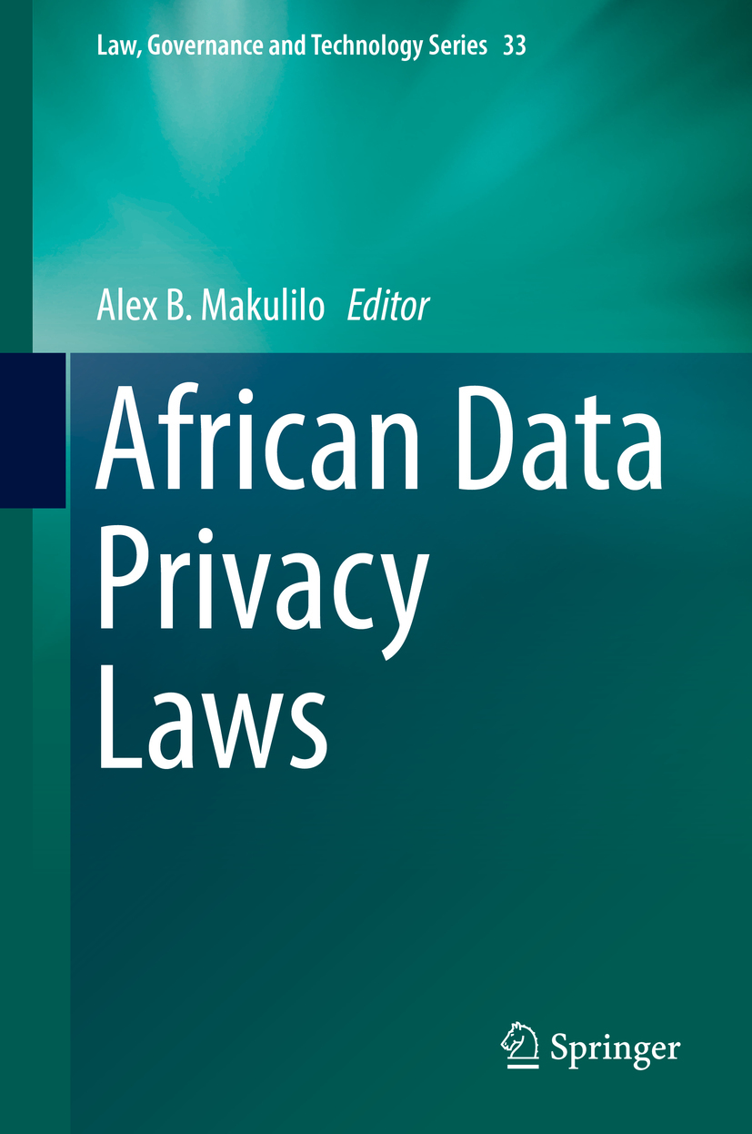 Makulilo, Alex B. - African Data Privacy Laws, e-kirja