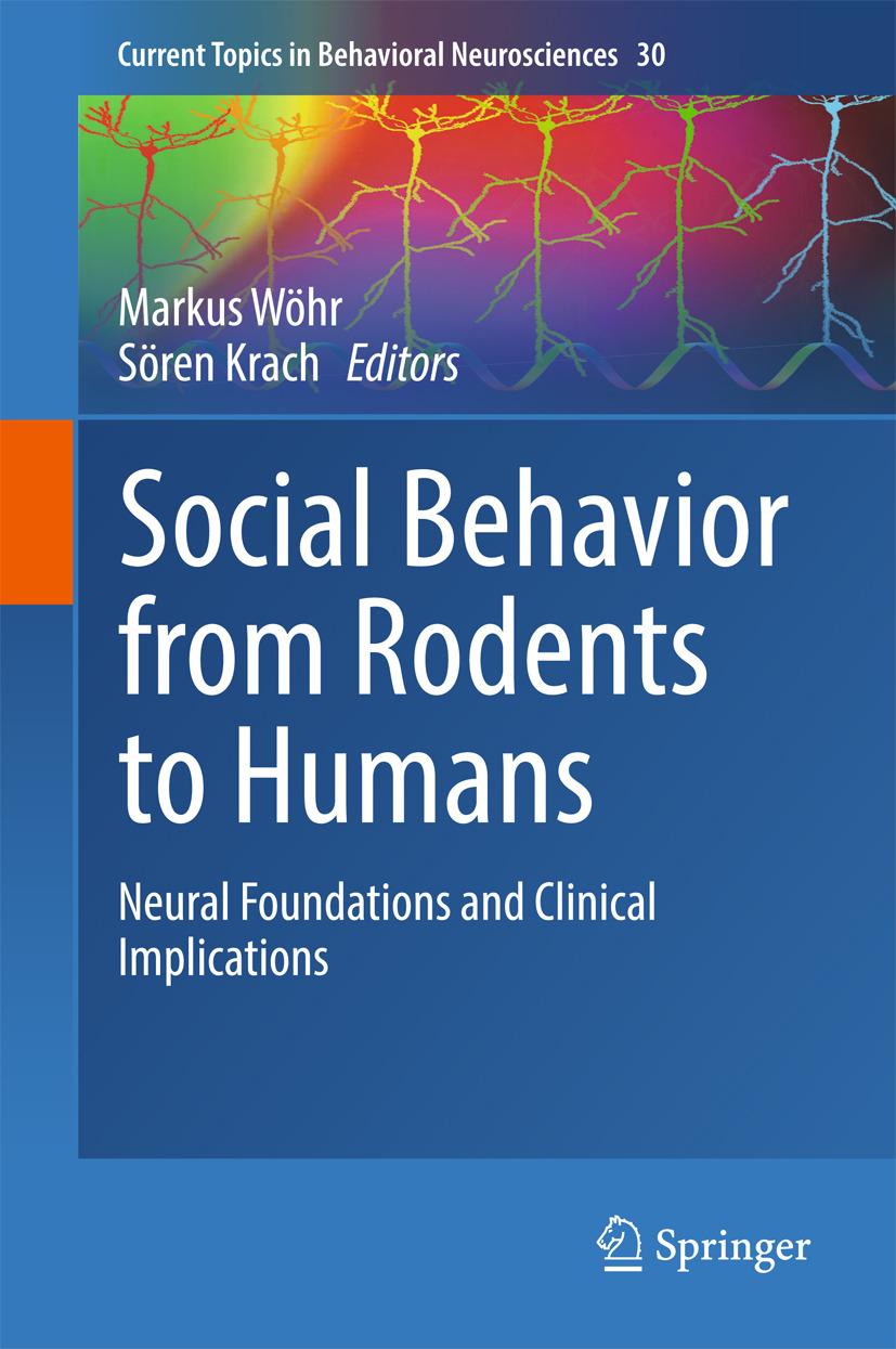 Krach, Sören - Social Behavior from Rodents to Humans, ebook