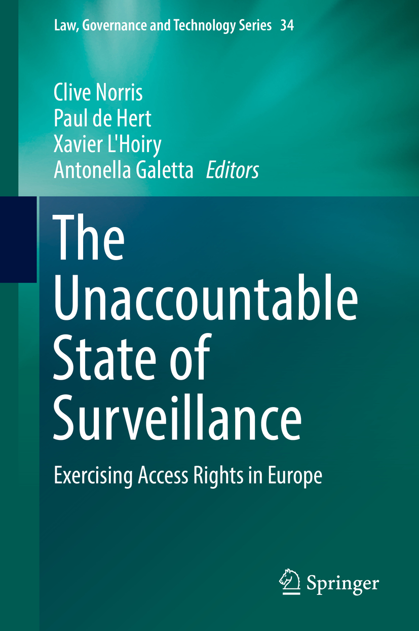 Galetta, Antonella - The Unaccountable State of Surveillance, ebook