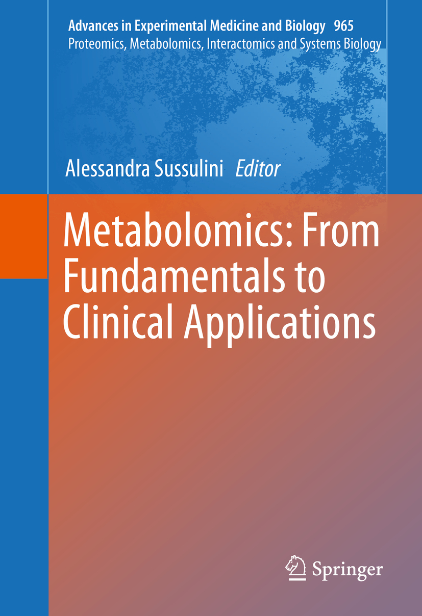 Sussulini, Alessandra - Metabolomics: From Fundamentals to Clinical Applications, ebook