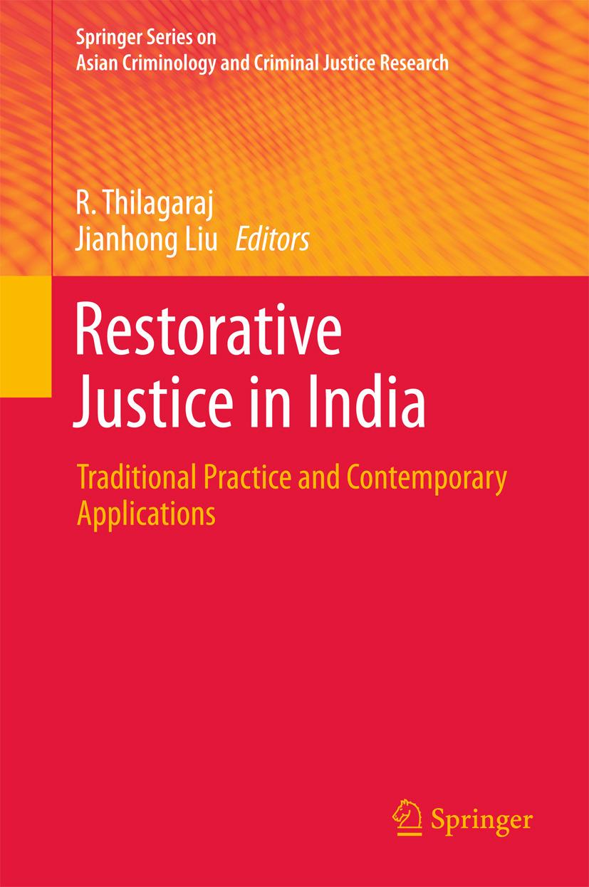 Liu, Jianhong - Restorative Justice in India, ebook