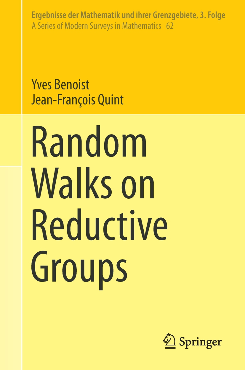 Benoist, Yves - Random Walks on Reductive Groups, ebook