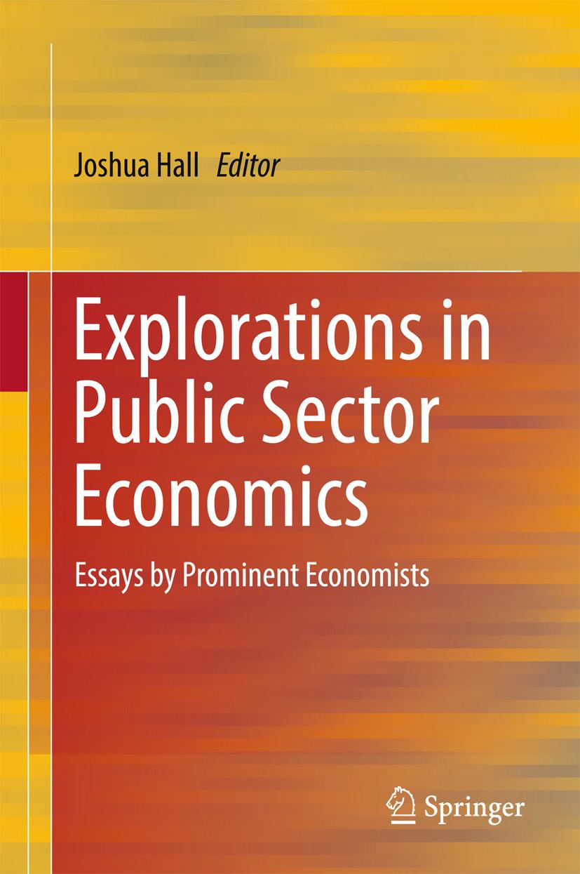 Hall, Joshua - Explorations in Public Sector Economics, ebook