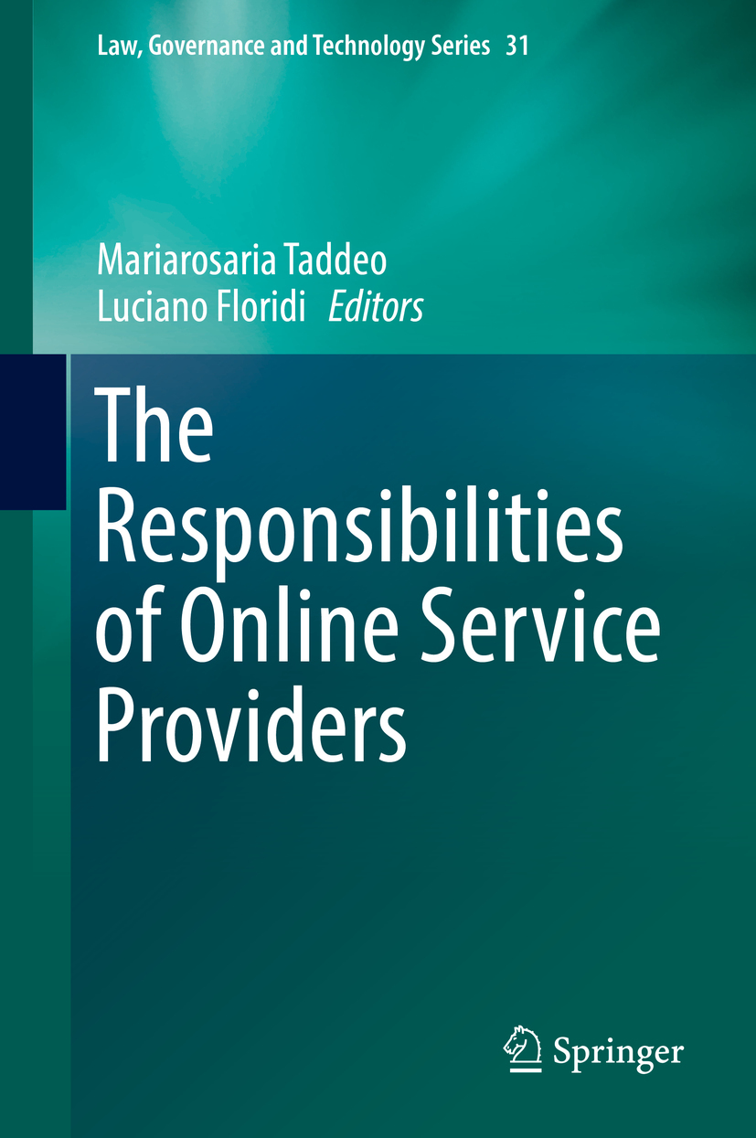 Floridi, Luciano - The Responsibilities of Online Service Providers, e-kirja