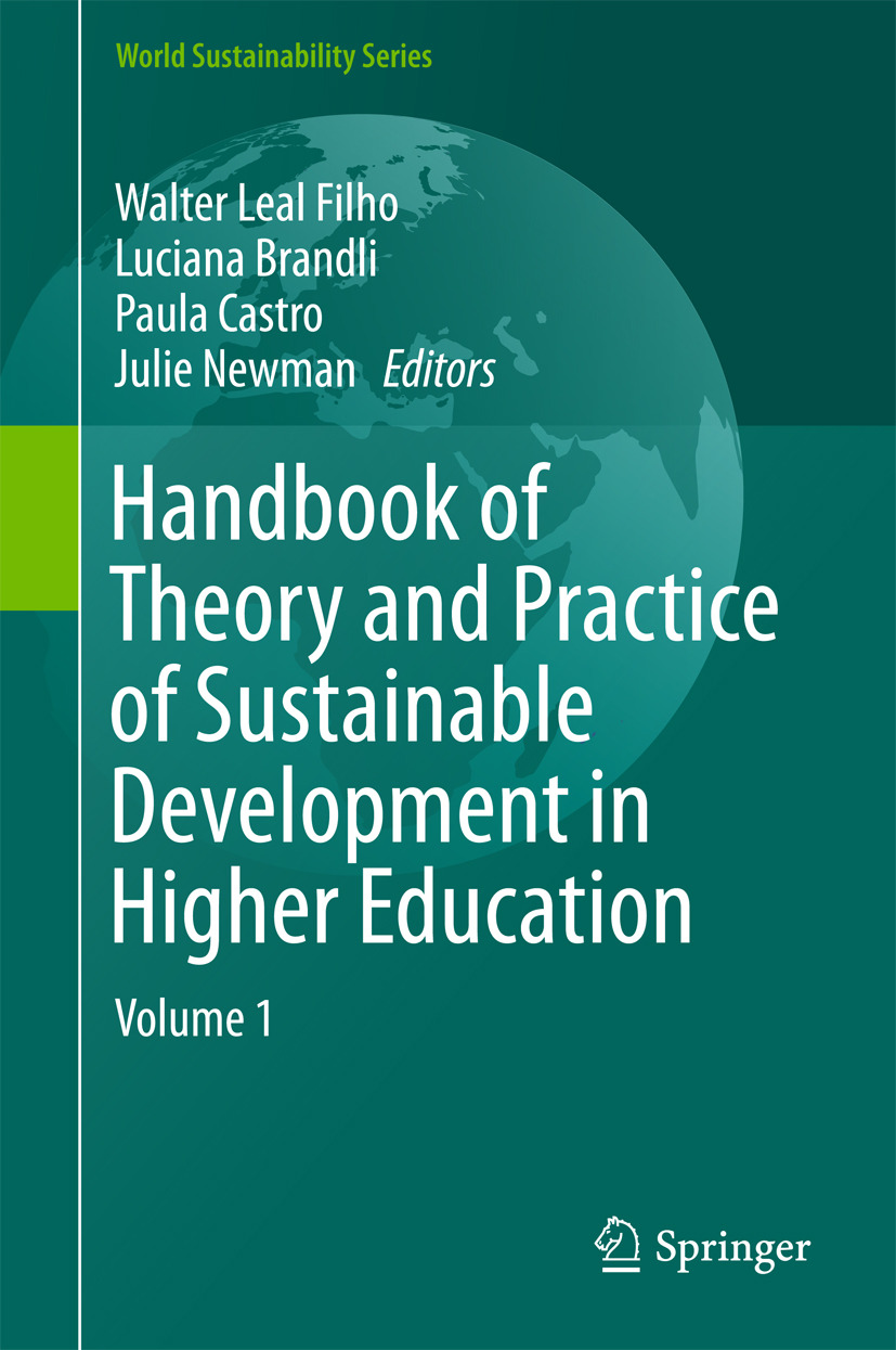 Brandli, Luciana - Handbook of Theory and Practice of Sustainable Development in Higher Education, e-bok