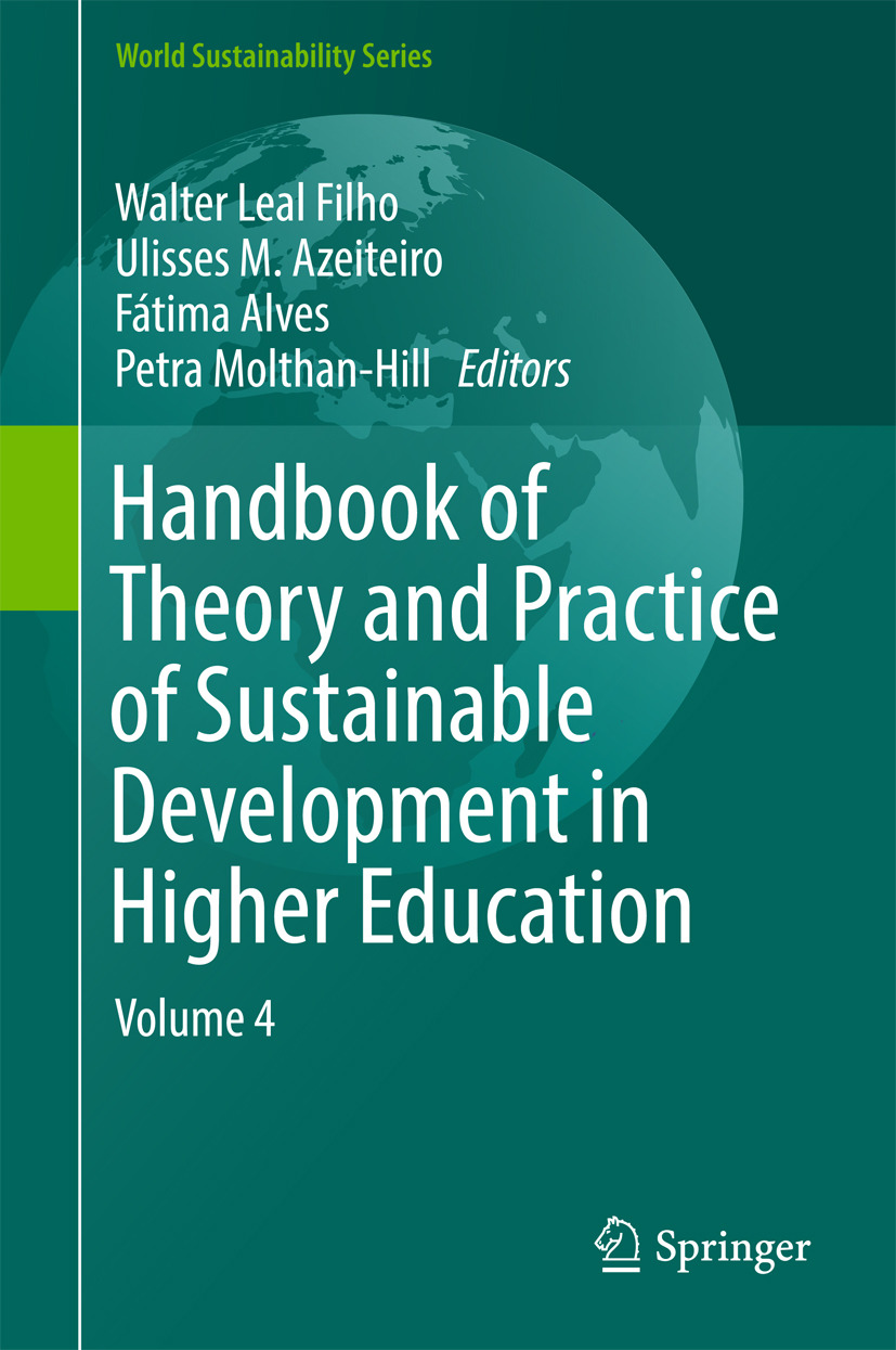 Alves, Fátima - Handbook of Theory and Practice of Sustainable Development in Higher Education, e-bok