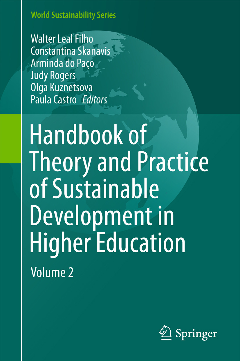 Castro, Paula - Handbook of Theory and Practice of Sustainable Development in Higher Education, ebook