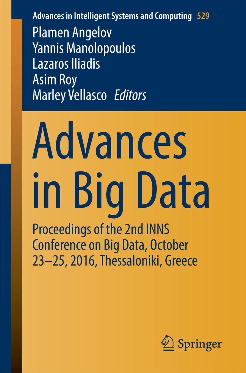 Angelov, Plamen - Advances in Big Data, ebook