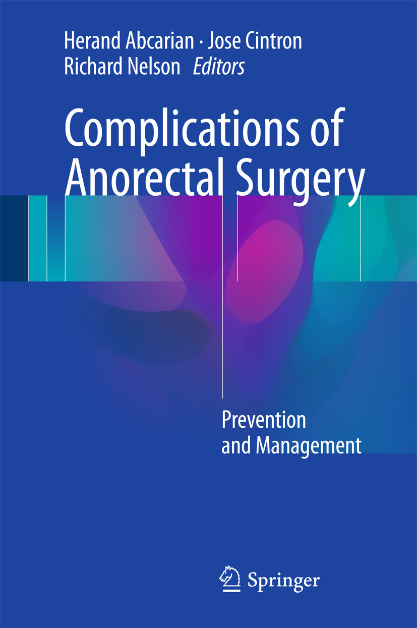 Abcarian, Herand - Complications of Anorectal Surgery, ebook
