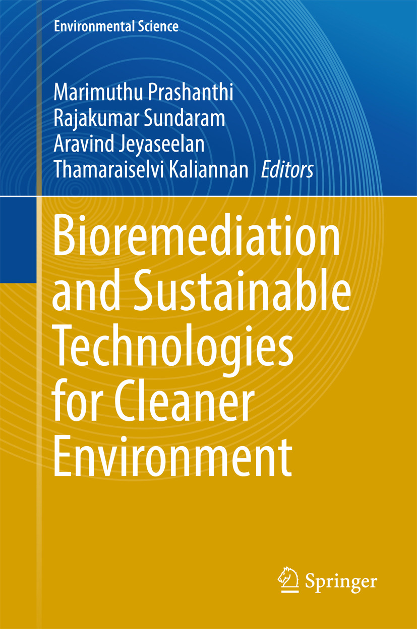 Jeyaseelan, Aravind - Bioremediation and Sustainable Technologies for Cleaner Environment, ebook