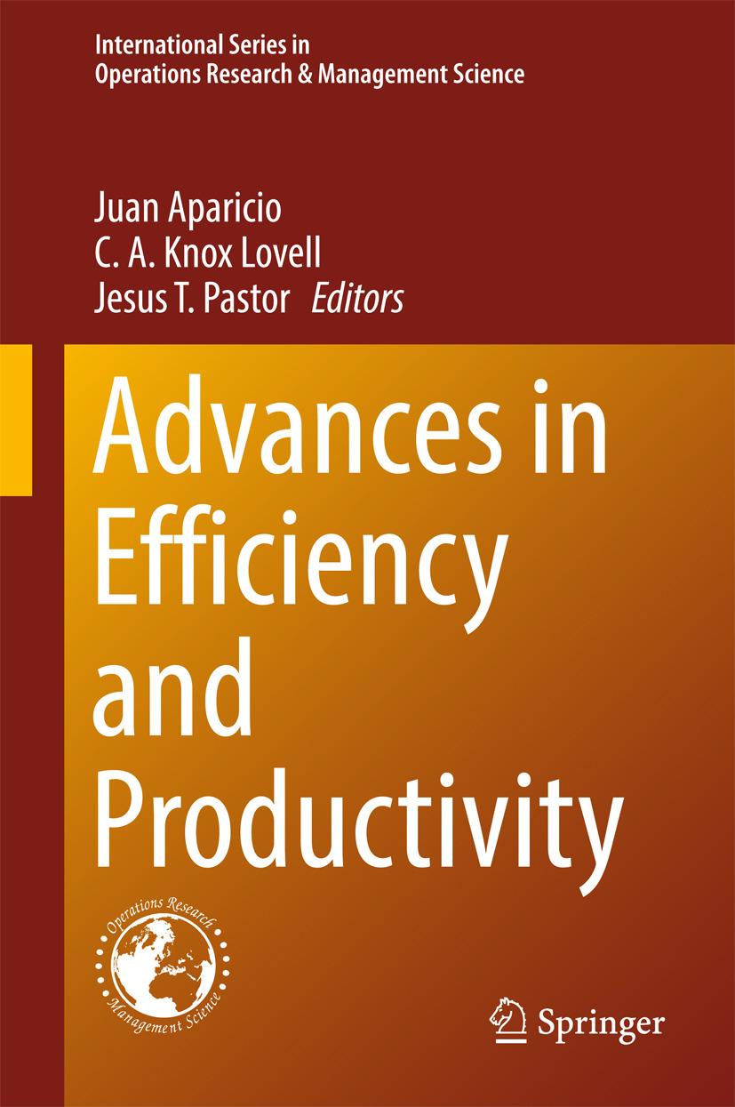 Aparicio, Juan - Advances in Efficiency and Productivity, ebook