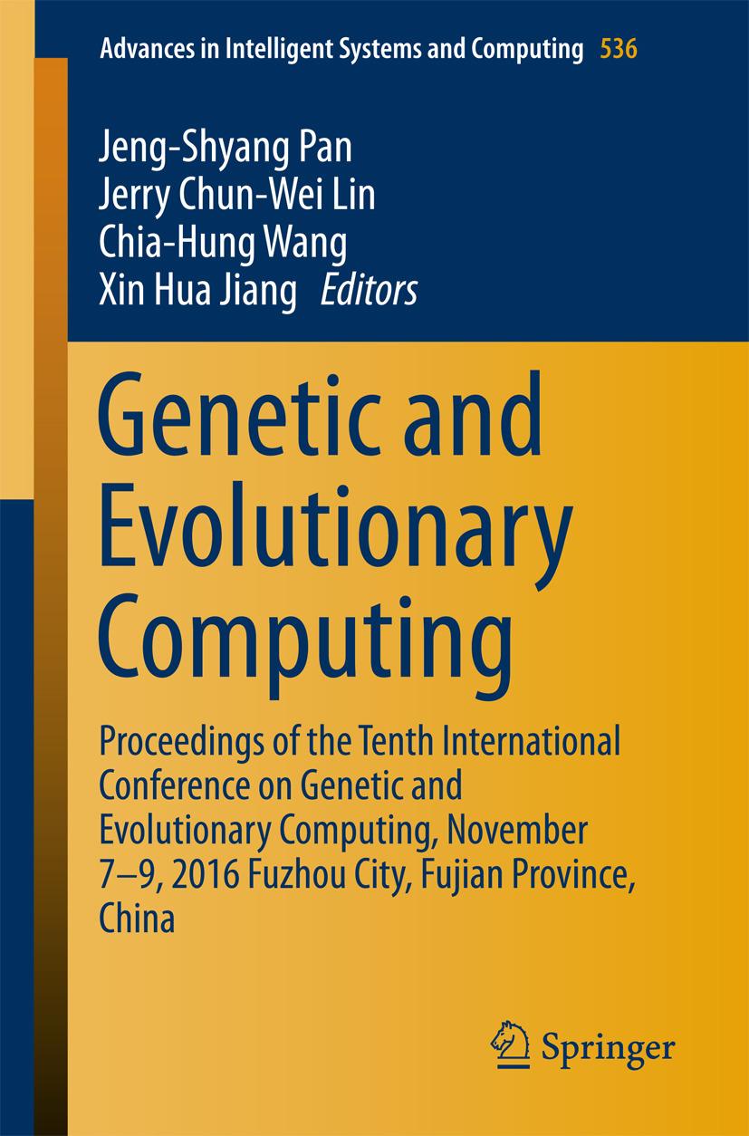 Jiang, Xin Hua - Genetic and Evolutionary Computing, ebook
