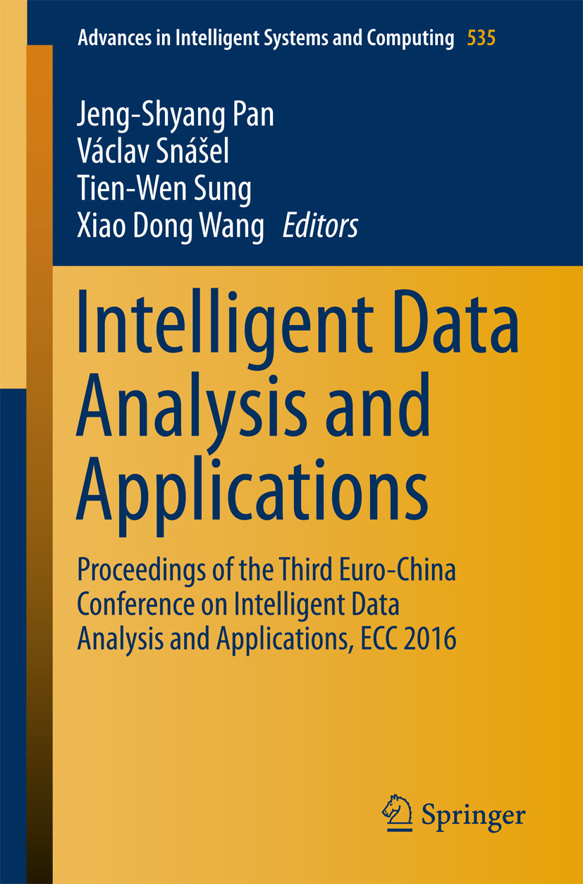 Pan, Jeng-Shyang - Intelligent Data Analysis and Applications, ebook