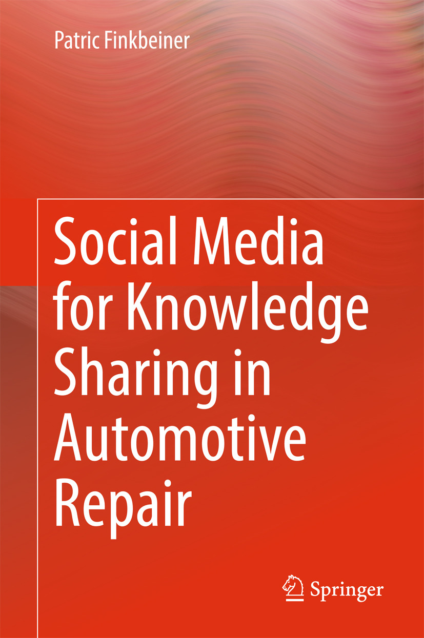 Finkbeiner, Patric - Social Media for Knowledge Sharing in Automotive Repair, ebook
