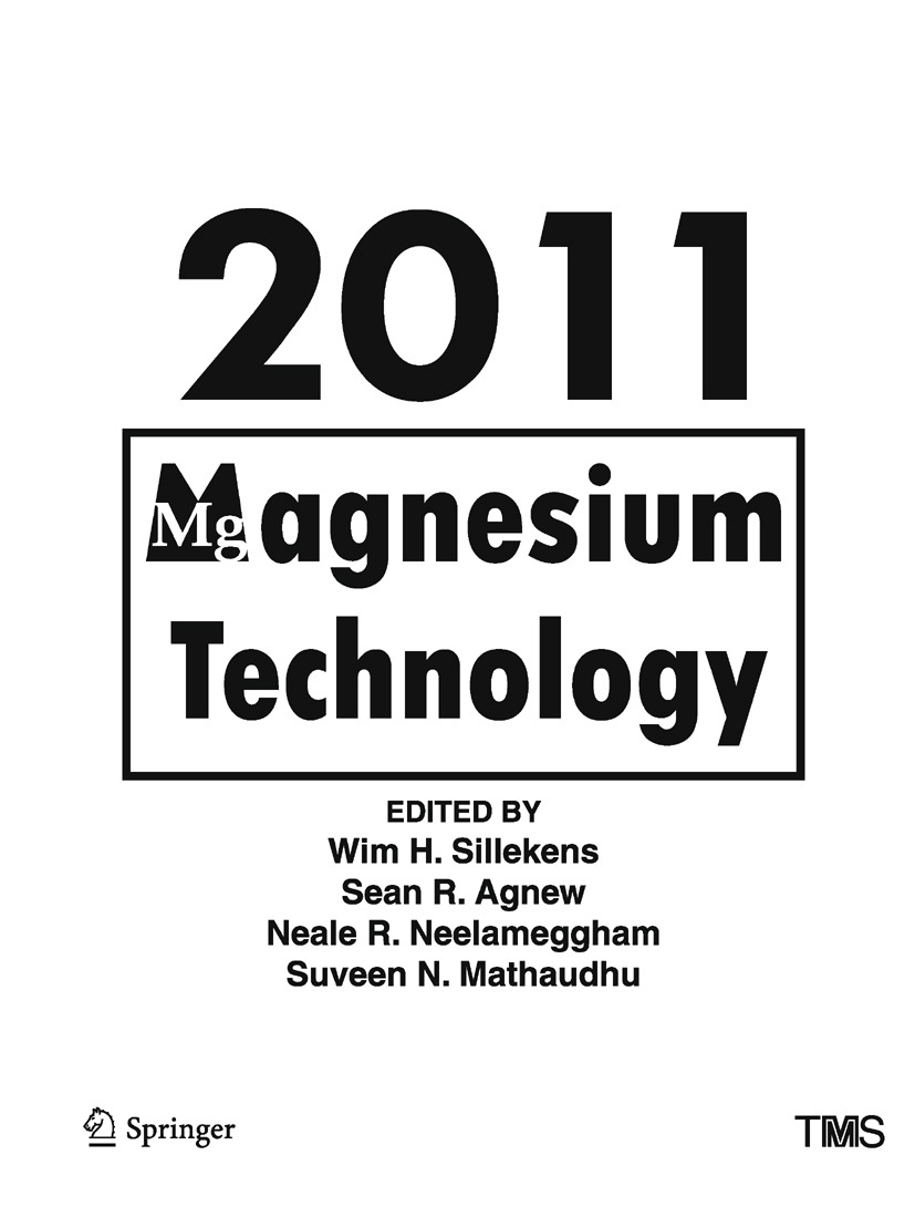 Agnew, Sean R. - Magnesium Technology 2011, ebook