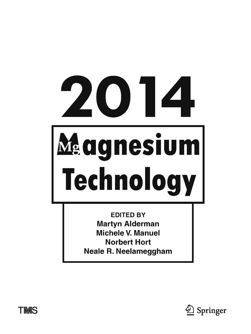 Alderman, Martyn - Magnesium Technology 2014, ebook