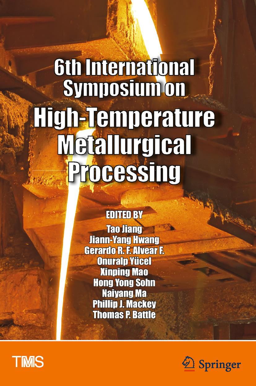 Battle, Thomas P. - 6th International Symposium on High-Temperature Metallurgical Processing, ebook