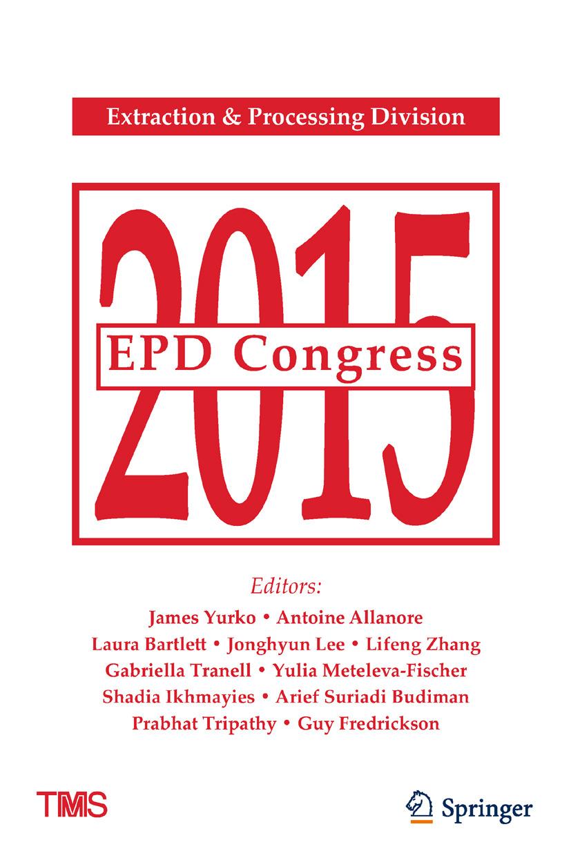 Allanore, Antoine - EPD Congress 2015, ebook