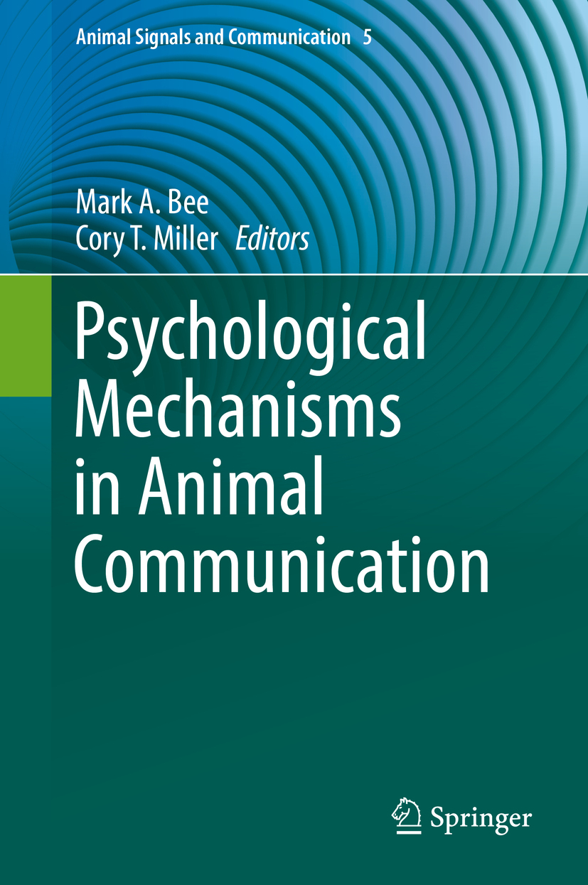 Bee, Mark A. - Psychological Mechanisms in Animal Communication, ebook