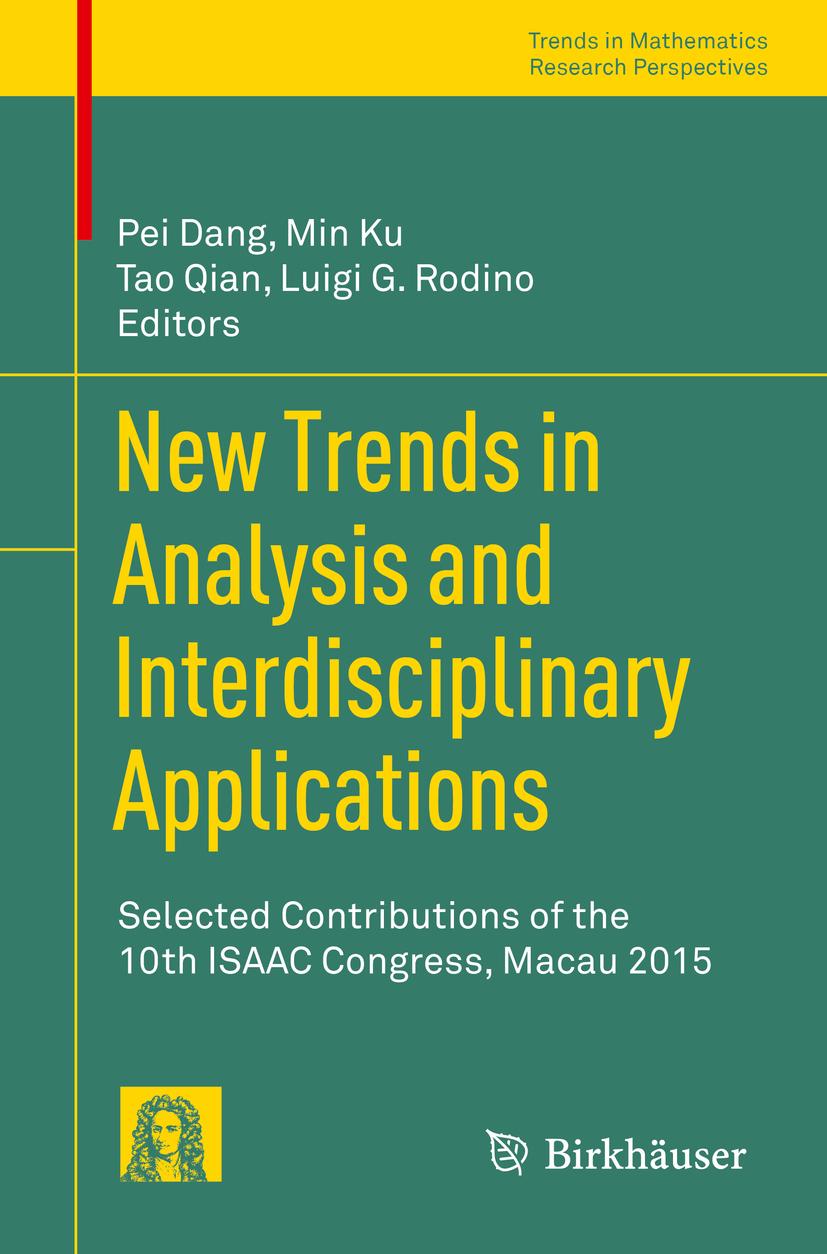Dang, Pei - New Trends in Analysis and Interdisciplinary Applications, ebook